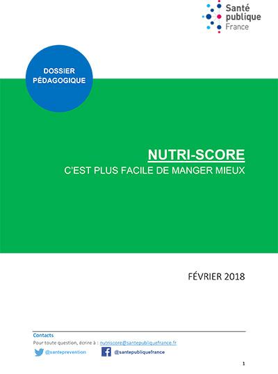 Dossier pédagogique du Nutri-Score