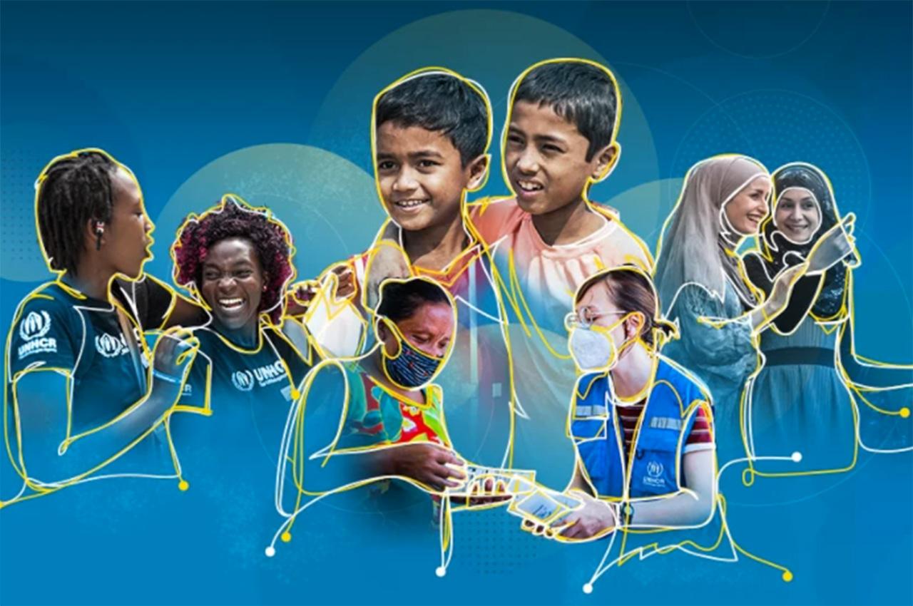 Visuel de la journée des réfugiés 2021