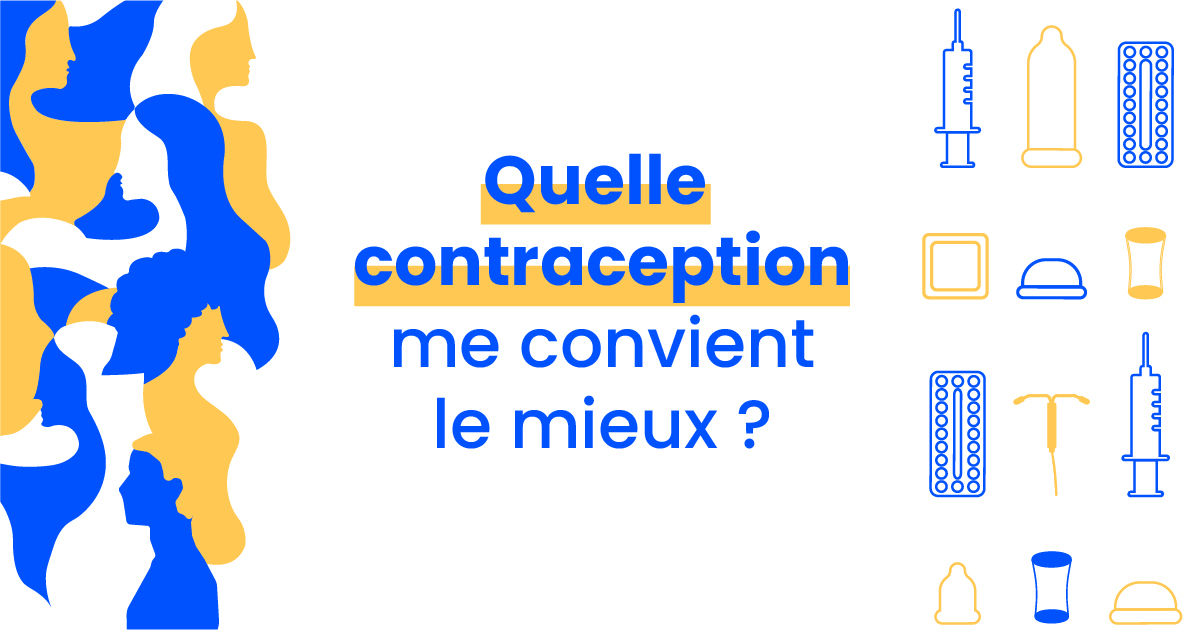 Quelle contraception me convient le mieux ?