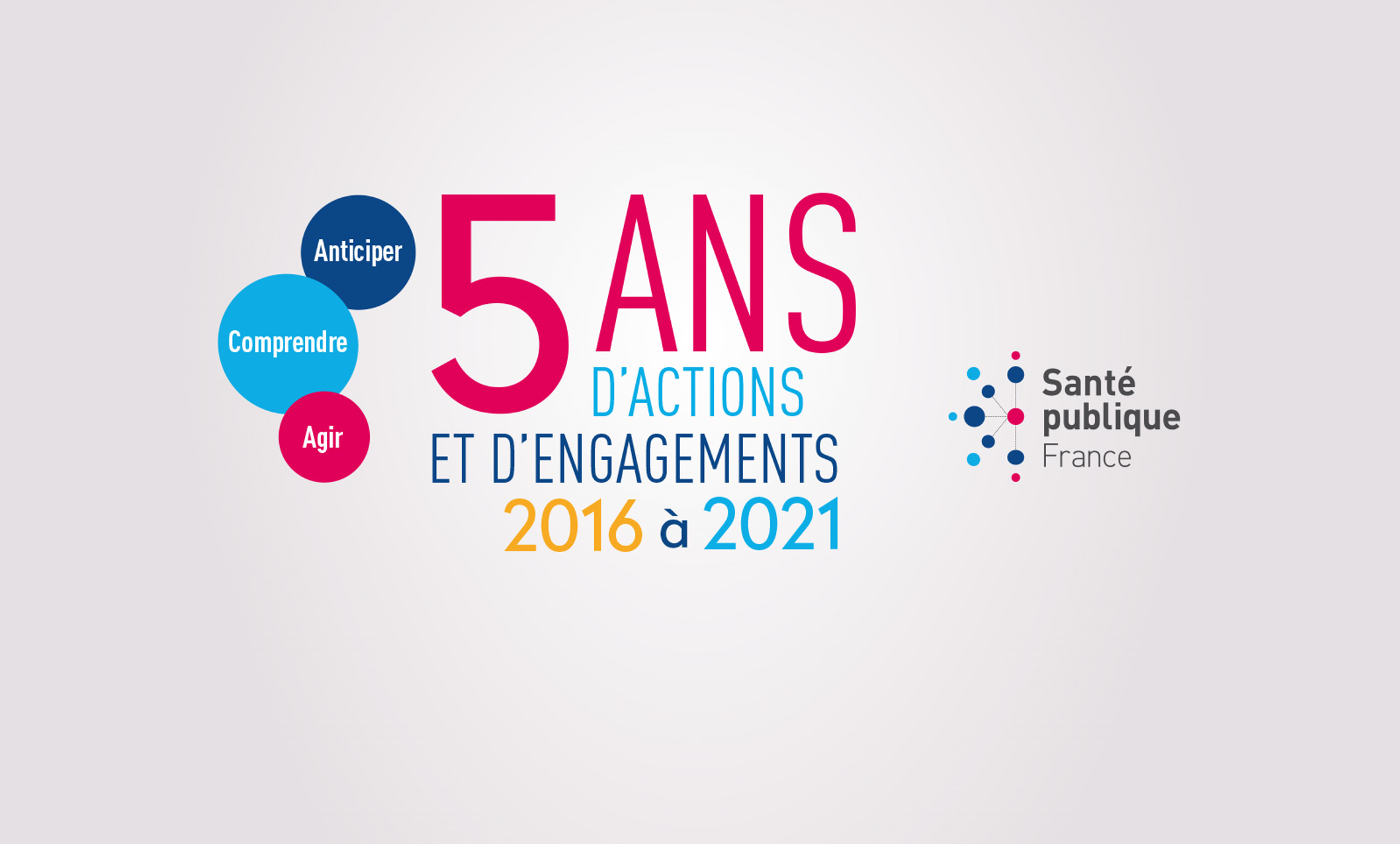 Santé publique France : 5 ans d'actions, 5 ans d'engagements