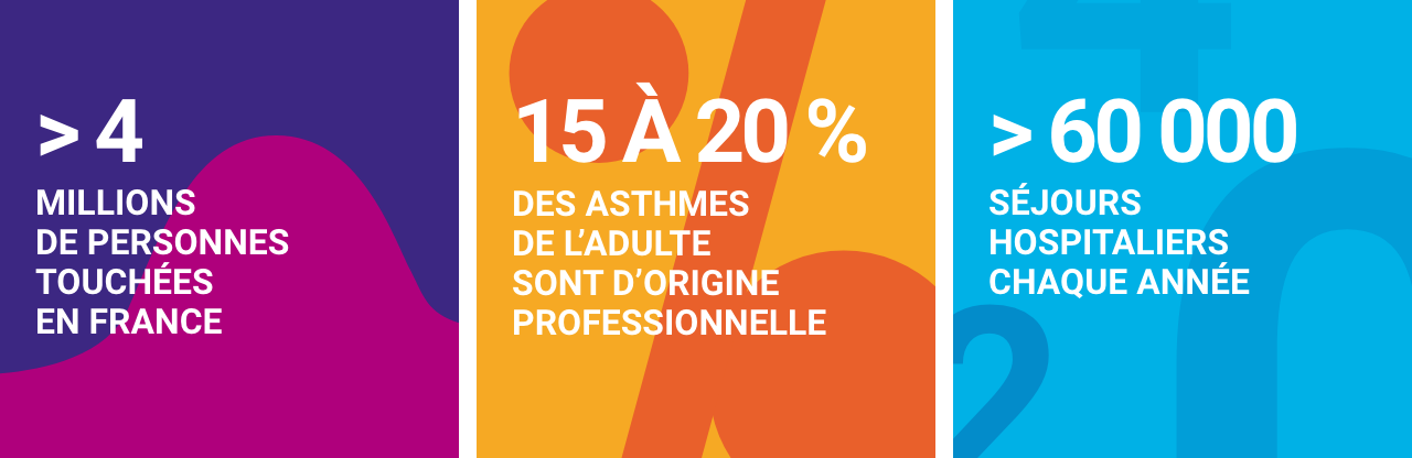 Infographie concernant l'asthme