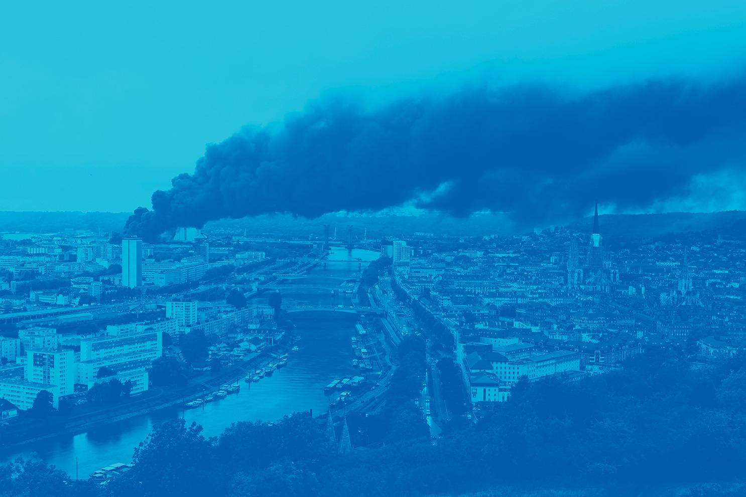 Incendie industriel du 26 septembre 2019 à Rouen : premiers chiffres de participation à l'enquête « Une étude à l'écoute de votre santé »