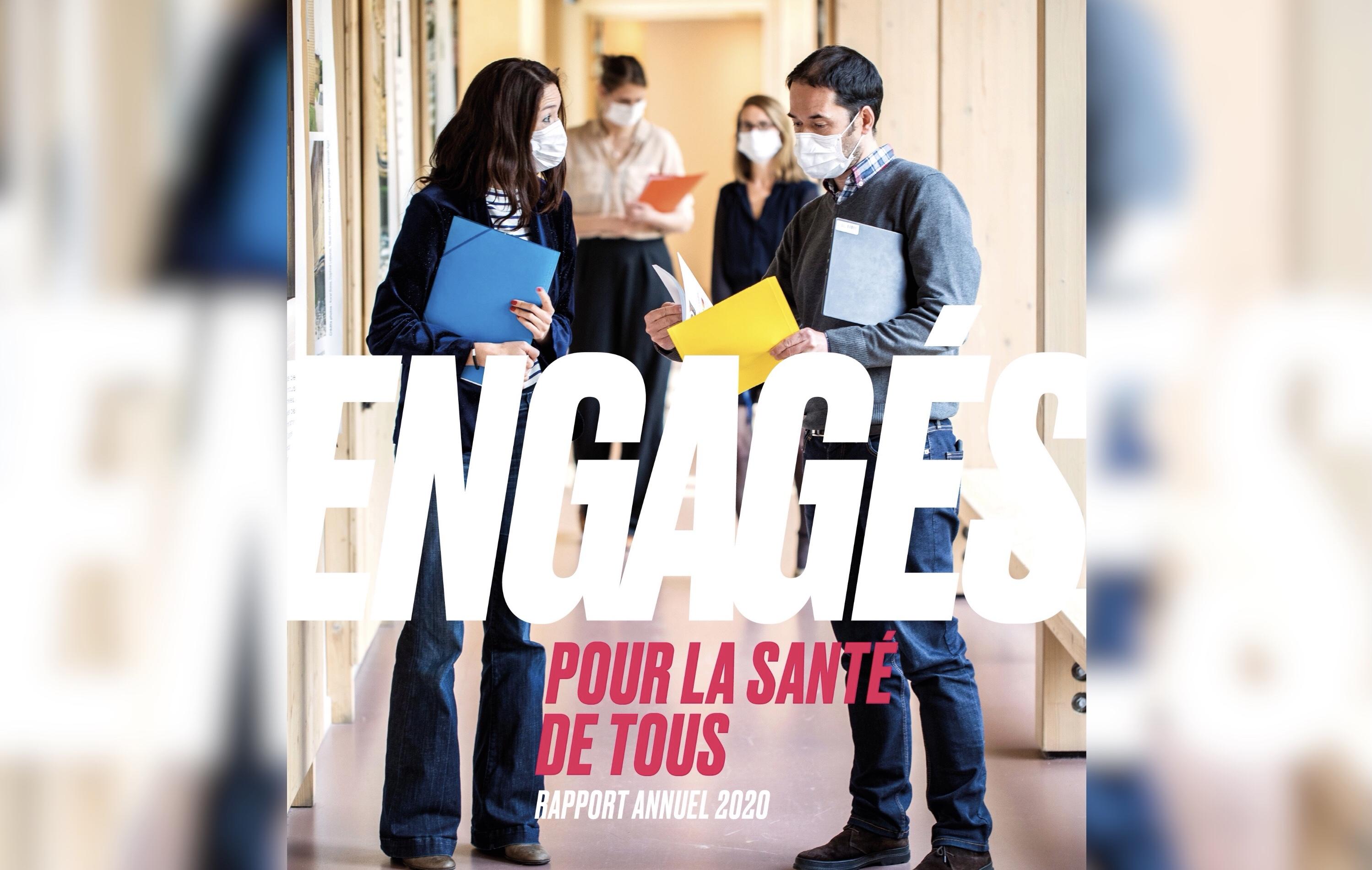 Rapport annuel - Santé publique France revient sur les temps forts de l'année 2020