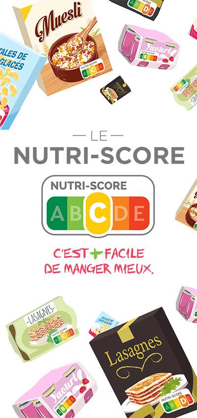 Dépliant de promotion du Nutri-Score