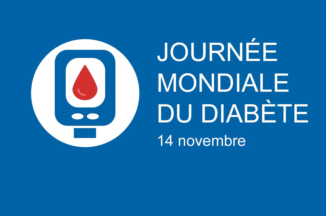 Journée mondiale du diabète, 14 novembre 2019