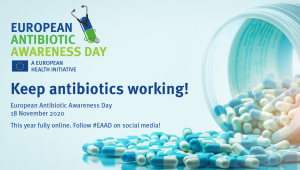 European Antibiotic Awareness-Keep antibiotics working