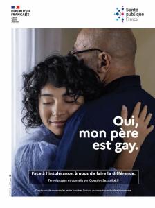 """""""Oui, mon père est gay."""""""
