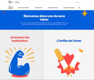 visuel site tabac-info-service.fr pour campagne d'information journée mondiale sans tabac 2021