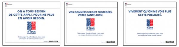 visuel campagne d'information TousAntiCovid